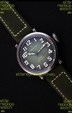 Zenith Pilot Type 20 Extra Special Green Dial Swiss Replica Watch 40MM