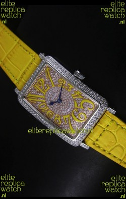 Franck Muller Master of Complications Long Island Ladies Watch in Stainless Steel