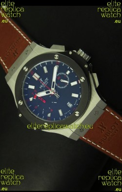 Hublot Big Bang Stainless Ceramic Bezel Swiss Quartz Watch 45MM