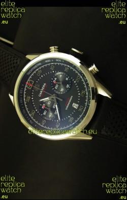 Tag Heuer Carrera Calibre 36 Flyback Black Dial Replica Watch - Quartz Movement