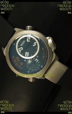 Welder K23 Duo Side Japanese Replica Watch in Stainless Steel Case
