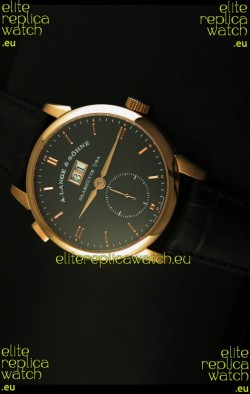 A.Lange & Sohne Reguliert Manual Handwind Watch in Pink Gold Case