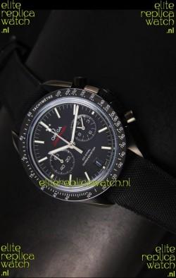 Omega Speedmaster Moon Watch Co-Axial Japanese Replica Watch Black Case Watch