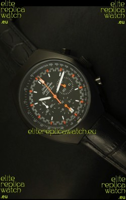Omega Speedmaster MARK II Co-Axial Chronograph PVD Case Watch