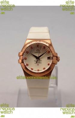 Omega Constellation Ladies Replica Watch - Quartz Movement - 35MM