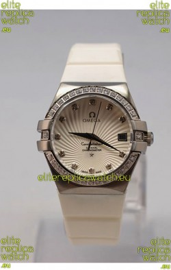 Omega Constellation Ladies Replica Watch - Steel Case - 35MM