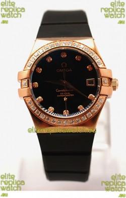 Omega Constellation Ladies Replica Watch - 35MM