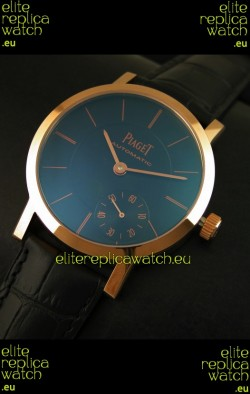 Piaget Altiplano Swiss Manual Winding Replica Watch in Black Dial