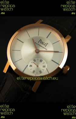 Piaget Altiplano Swiss Manual Winding Replica Watch in White Dial