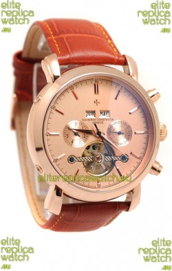 Vacheron Constantin Malte Tourbillon Japanese Pink Gold Watch