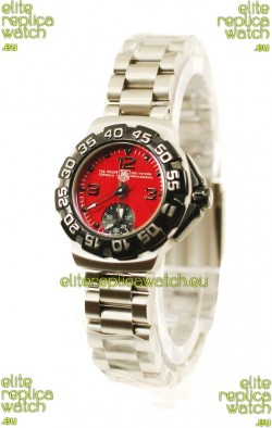 Tag Heuer Professional Formula 1 Japanese Replica Watch in Red Dial