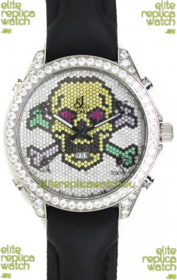 Jacob & Co. The Five Time Zone Skeleton Swiss Replica Watch