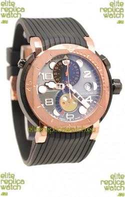 Mont Blanc Sports Chronograph Japanese Watch