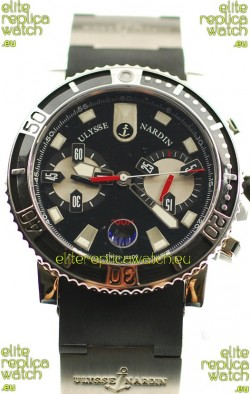 Ulysse Nardin Maxi Marine Diver Chronograph Swiss Replica Watch