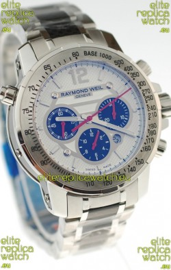 Raymond Weil Nabucco Exceptional Architectural Power Swiss Replica Watch in White Dial