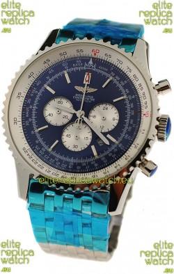 Breitling Navitimer Chronometre Japanese Watch in Steel Strap