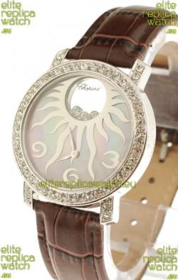 Chopard Happy Diamond Swiss Watch in Pearl Dial