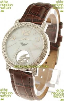 Chopard Happy Diamond Swiss Replica Watch in Diamond Bezel