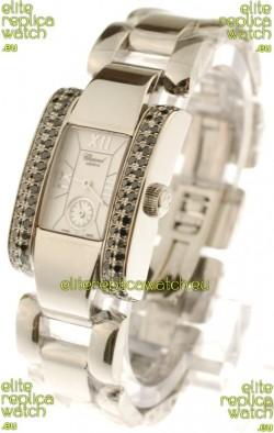 Chopard La Strada Swiss Ladies Swiss Watch in Silver Dial