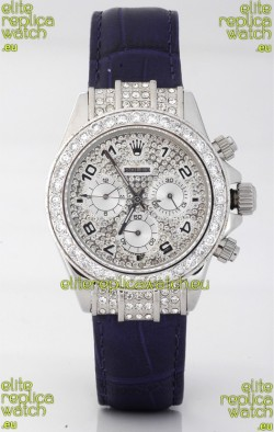 Rolex Daytona Diamonds Japanese Replica Watch