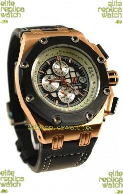 Audemars Piguet Royal Oak Offshore Rubens Barrichello Gold Watch