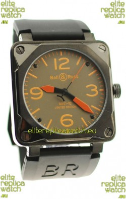 Bell and Ross BR01-92 Limited Edition Japanese PVD Watch