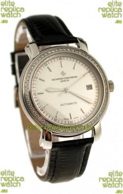 Vacheron Constantin Geneve Japanese Replica Watch in Stick Hour Markers