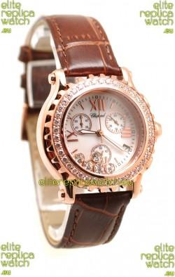 Chopard Happy Sport Ladies Swiss Replica Watch