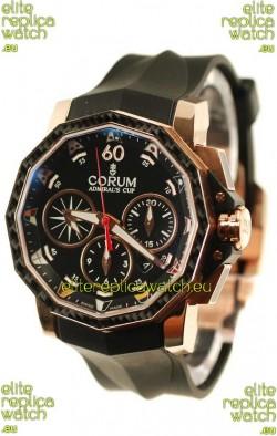 Corum Admiral Cup Challenge Swiss Replica Watch in Black