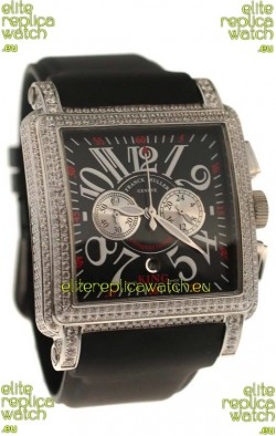 Franck Muller Master of Complications Swiss Replica Watch in Black Dial