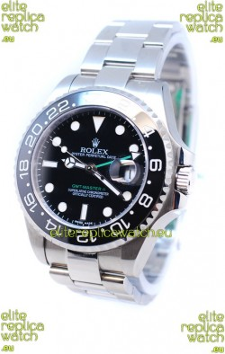 Rolex GMT Masters II 2011 Edition Swiss Replica Watch in Cerarmic Bezel