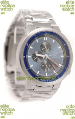 IWC Aquatimer Japanese Replica Watch in Blue Dial