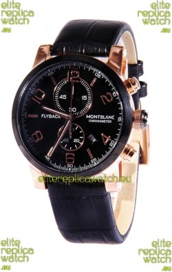 Mont Blanc Classic Flyback Chronograph Japanese Replica Watch