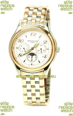 Patek Philippe Grand Complications Japanese Replica Gold Watch in Arabic Hour Markers