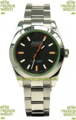 Rolex Milgauss Swiss Replica Watch - 40MM - 1:1 Mirror Replica