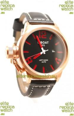 U-Boat Classico Japanese Gold Watch