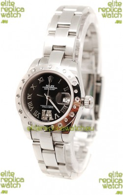 Rolex Datejust Silver Ladies Replica Watch