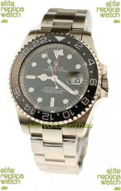 Rolex GMT Masters II Swiss Replica Watch in Ceramic Bezel