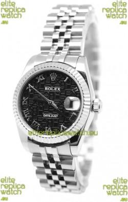 Rolex DateJust Mid-Sized Japanese Replica Watch
