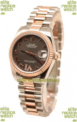Rolex Datejust Diamond VI Japanese Replica Watch - 36MM
