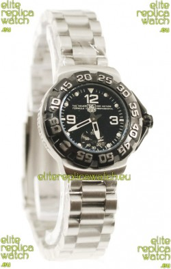 Tag Heuer Professional Formula 1 Japanese Replica Watch in Black Dial
