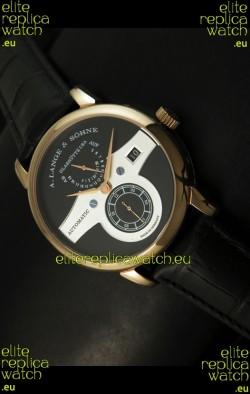 Alange Sohne Zeitwerk Edition Japanese Watch Black Dial