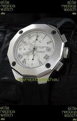 Baume & Mercier Riveria Swiss Watch in White Dial