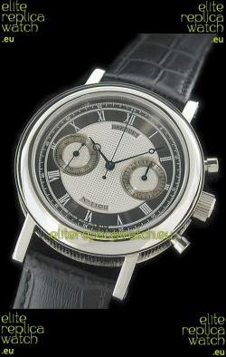 Breguet REF 1775 Swiss Replica Watch in Grey & Silver Dial