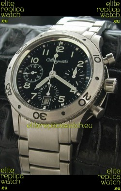 Breguet Aeronavale Swiss Replica Titanium Watch