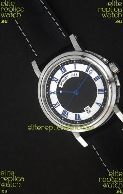 Breguet De La Marine Swiss Replica Watch in Black & White Dial