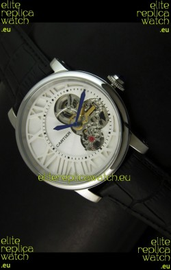Rotonde De Cartier Cadran Love Japanese Replica Watch - Stainless Steel Case
