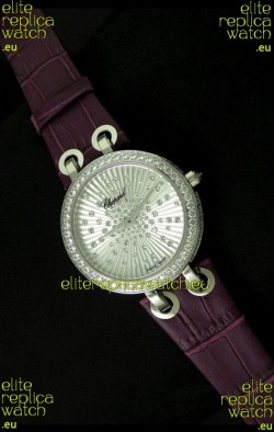 Chopard Xtravaganza Ladies Ladies Japanese Replica Watch in Diamond Bezel