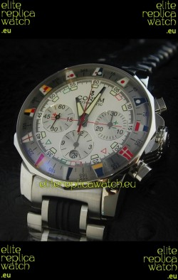 Corum Admiral's Cup Challenge Swiss Replica Watch in White Dial