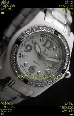 Corum Imitation Ceramics Japanese Replica Watch in White Dial